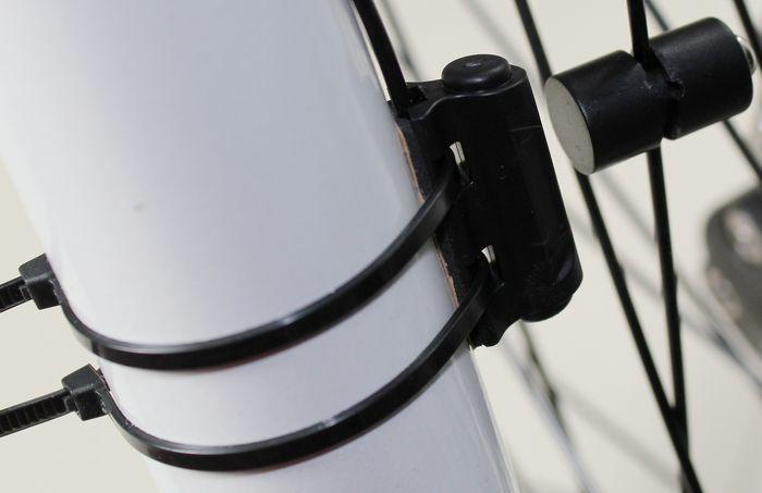 установка велокомпьютера