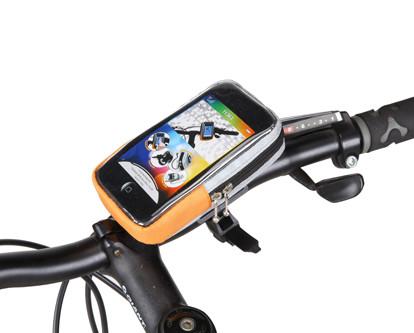 Фотография велосипедный держатель Roswheel для телефона на руль