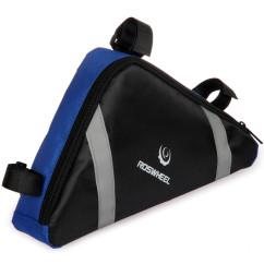 Картинка велосумка под раму Roswheel черно-синяя