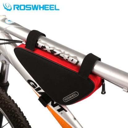 Фото велосумка под раму Roswheel черно-красная
