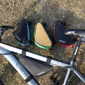 Фото велосумка под раму Roswheel черная