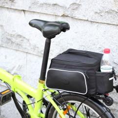 Фото Велосумка на багажник черная