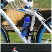 Фото флягодержатель велосипедный Beto черный пластик