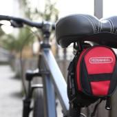 Картинка велосумка под седло Roswheel черно-красная