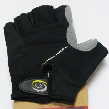 Картинка велоперчатки Roswheel черные размер L