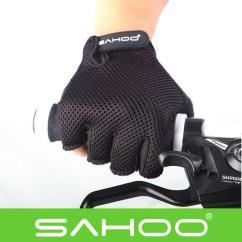 Фото Велоперчатки Sahoo черные размер M