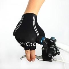 Картинка велоперчатки Sahoo черно-синие размер XL