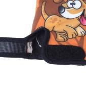Картинка велоперчатки детские Sahoo коричневые