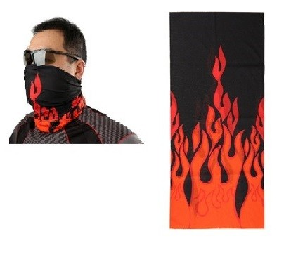 Бафф для велосипедиста пламя арт.45931-49