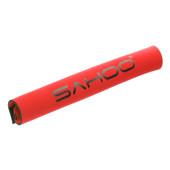 Картинка защита подвески от для велосипеда Sahoo красная