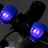 Картинка велофонари для велосипеда силиконовые синий свет