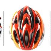 Картинка шлем велосипедный Sahoo 91415-5 красно-белый