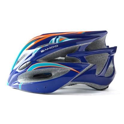 Картинка шлем велосипедный Sahoo 91598-В фиолетовый