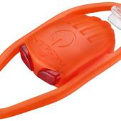 Фото велофонарь универсальный красный свет Akslen оранжевый