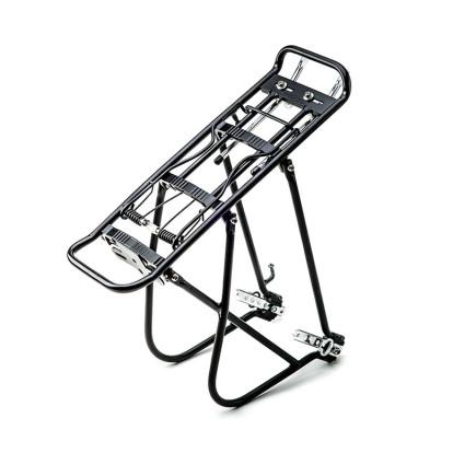 """Картинка багажник для велосипеда HW черный универсальный 24-28"""""""