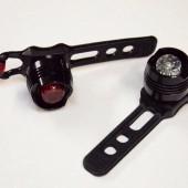 Комплект дополнительного освещения на велосипед HW черный