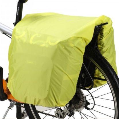 Накидка от дождя для велосумки-штаны