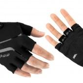 Фото перчатки велосипедные Sahoo черные, без пальцев
