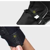 Фото перчатки для велосипеда Sahoo черные, осенне-зимние с пальцами