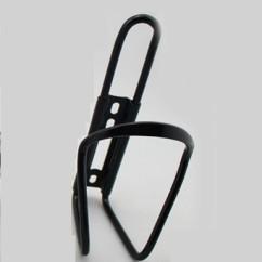 Картинка флягодержатель для велосипеда на раму алюминиевый черный