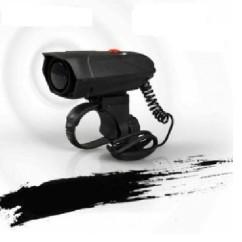Картинка велозвонок электронный, 120 дБ, черный