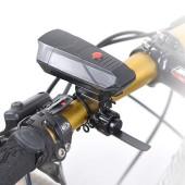 Картинка велозвонок электронный, 110 дБ, черный