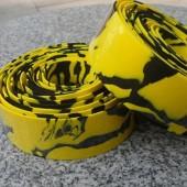 Фото обмотка для велосипедного руля, желто-черная
