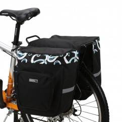 Фото велосумка - штаны на багажник Roswheel 30 л. с рисунком