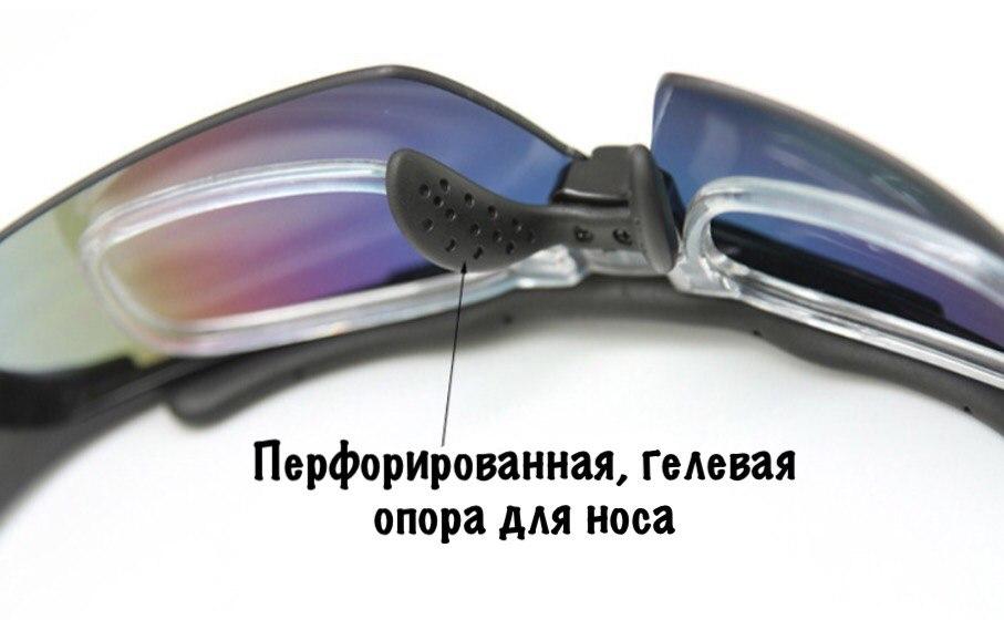 Фото велоочки Topeak sport с диоптриями 5 в 1