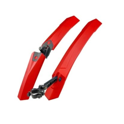 Фото комплект щитков зрязезащитных для велосипеда красный