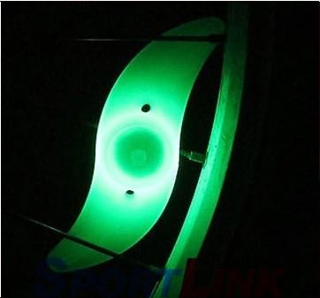Фото светодиодный маячок на спицы велосипеда
