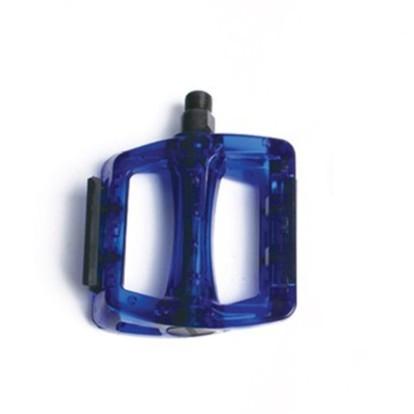 Фото педали для велосипеда NECO 110 x 100 mm синие