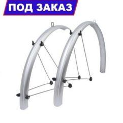 щитки для велосипеда серебристые 26 дюймов