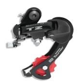 Фото переключатель задний для велосипеда на 6 скоростей Shimano TZ50 (черный)