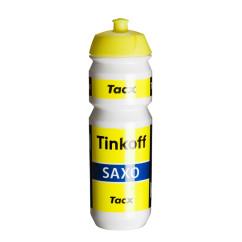 Фото фляга для велосипеда TACX SHIVA PRO TEAM TINKOFF, желтая