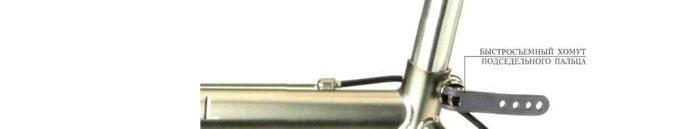 Фото хомут подседельный Kenli D-25,40mm черный
