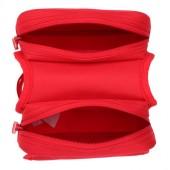 Картинка велосумка на раму 1L водостойкая Roswheel красная