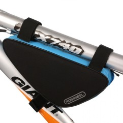 Фото велосумка под раму 1.5L Roswheel черно-синяя