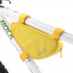 Фото Велосумка под раму 1.5L Roswheel желтая