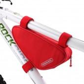 Фото велосумка под раму 1.5L Roswheel красная
