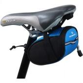 Фото велосумка под седло 0,5L Roswheel черно-синяя