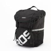 Фото сумка на багажник велосипеда 15L боковая Roswheel черная