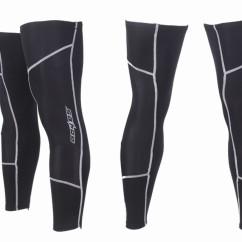 Картинка ногова (гетры) для велосипедиста Sahoo черные размер L