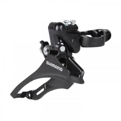 Фото переключатель передний для велосипеда Shimano TZ30 верхняя тяга