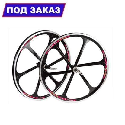 """комплект литых колес Teny Rim для велосипеда 26"""" (черный)"""
