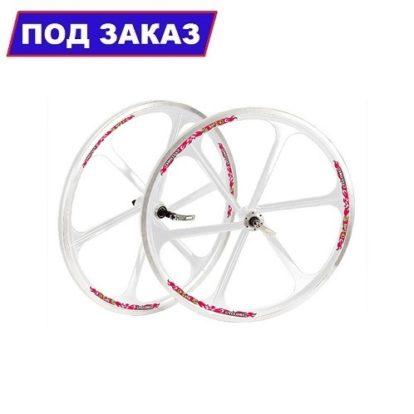 """комплект литых колес Teny Rim для велосипеда 26"""" (белый)"""