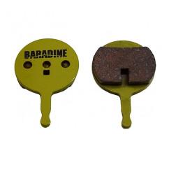 Фото колодки для дисковых тормозов велосипеда Baradine DS-38 sintered
