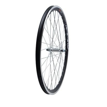 Колесо переднее для велосипеда черное