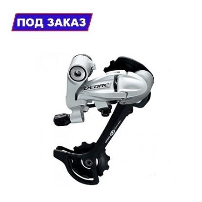 Фото переключатель задний для велосипеда SHIMANO DEORE RD-M591-SGS-L (серебристый)