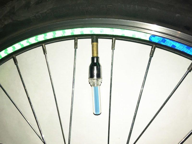 Фото колпачок на ниппель для велосипеда